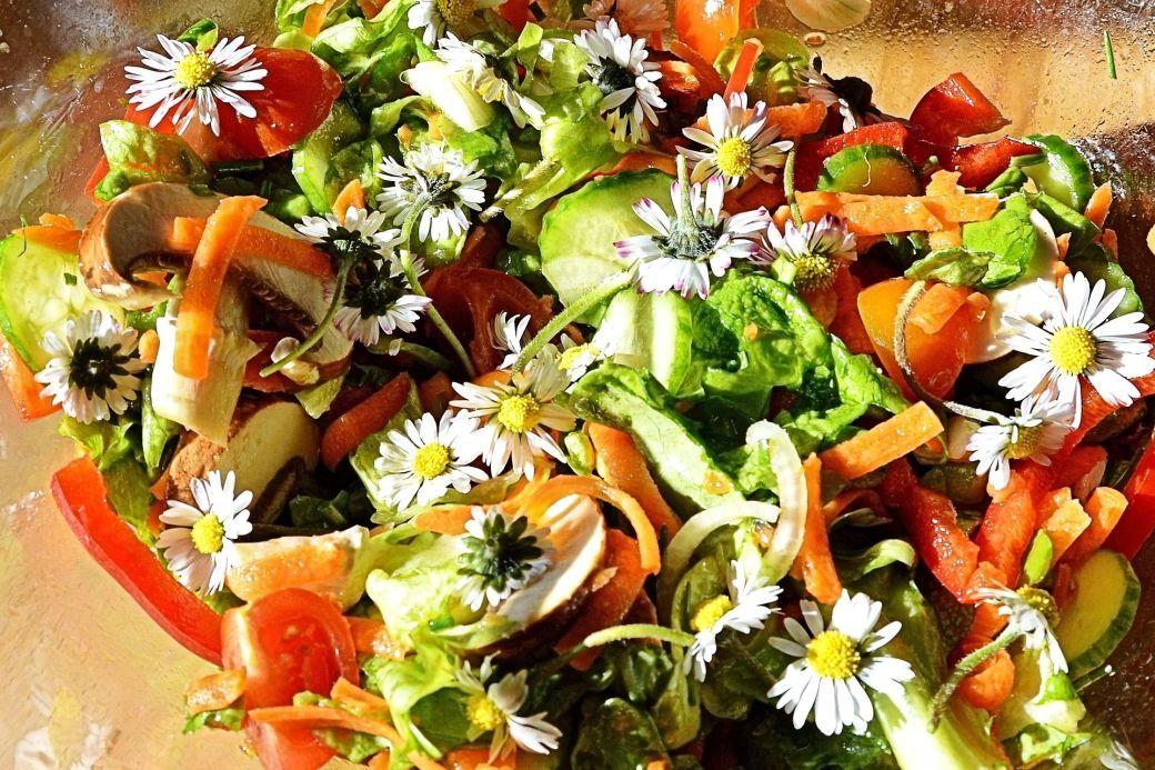 Wildkräuter_Salat